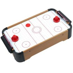 Mini Table Top Air Hockey - Comes with Everything You Need - Listing price: $69.99 Now: $7.87