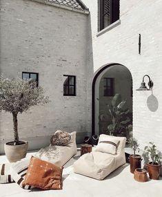 Exterior Design, Interior And Exterior, Casa Patio, Style Deco, Interior Design Inspiration, Outdoor Spaces, Interior Architecture, Living Spaces, Sweet Home