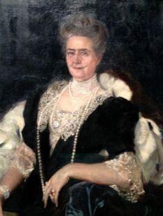 Stunning Portrait of Mrs J P Morgan