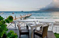 Luxury Directory Caribbean, Restaurants in St Kitts, The Beach House, St Kitts gourmet restaurant