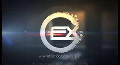 GFX SCHOOL AND STUDIO OF DESIGN ONLINE 3D METALLIC LOGO CONCEPT