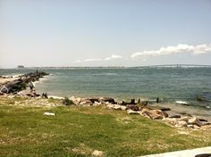 Longport Jetty Looking Toward Ocean City, NJ
