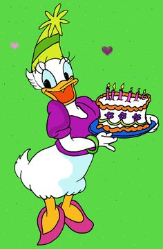 Daisy Duck- here is my another drawing.i draw daisy with hand and colored her in photoshop. heart brush: [link] Daisy Duck, Donald duck (c) Disney Daisy Duck Disney Duck, Disney Mouse, Minnie Mouse Party, Disney Mickey, Disney Happy Birthday Images, Disney Birthday Wishes, Disney Images, Disney Pictures, Cartoon Images