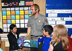 National Park Service - guest speaker from Olympic National Park