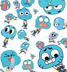 The Amazing World of Gumball - Gumball Baby Looney Tunes, World Of Gumball, We Bare Bears, Like Animals, Animated Cartoons, Cartoon Shows, Anime, Cartoon Wallpaper, Cartoon Network