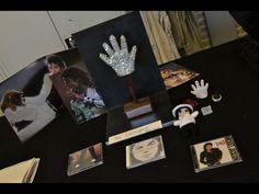 CPE Roem Blariacum Deze leerling eert Michael Jackson en maakt de glitterhandschoen van klei, glazuur en glitters.