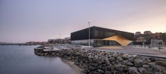 Gallery of Klimatorium Climate Center / 3XN Architects + SLA Architects - 2 Wooden Facade, Water Playground, Natural Scenery, Aarhus, Urban Life, Built Environment, Boat Building, Exterior Design, Outdoor Spaces
