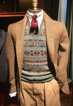 Forty-Two Fall 2018 Polo RL Rhinelander Mannequins - Ivy Style Preppy Mens Fashion, Mens Fashion Suits, Sharp Dressed Man, Well Dressed Men, Ralph Lauren, Vintage Men, Vintage Fashion, Cool Outfits, Fashion Outfits