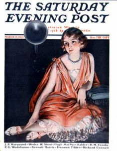 Woman And Phonograph by Pearl L. Hill, March 21, 1925, Saturday Evening Post.