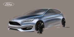 Ford Focus 2015 on Behance