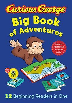 Presents twelve adventures featuring Curious George.