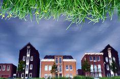 Fun with reflections #vathorst #nieuwbouw