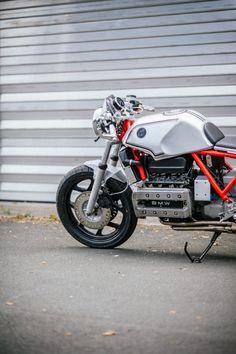 BMW K100 Custom Motorcycle 26