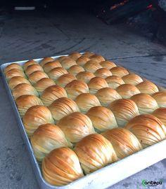 Gaziantep'in en iyi midyesini yapmaktan gurur duyuyoruz. Hot Dog Buns, Bread, Syrup, Cooking, Allah, Yogurt, Desserts, Food, Kitchens