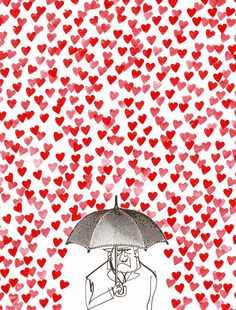 I've got to remember to put my umbrella in the closet on Mondays because this is sort of how I feel today!