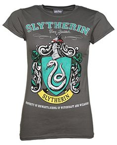 Womens Charcoal Harry Potter Slytherin Team Quidditch T S... https    b43d8b2b7722b
