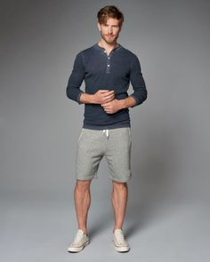 Best Ideas For Moda Masculina Sport Casual Mens Fashion Short Outfits, Casual Outfits, Men Casual, Sport Casual, Casual Styles, Man Style Casual, Preppy Casual, Men's Outfits, Casual Wear