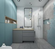 Modern Bathroom Decor, Bathroom Interior, Home Fashion, Double Vanity, Mirror, House Styles, Furniture, Design, Road Runner