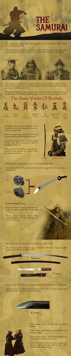 Samurai infographic
