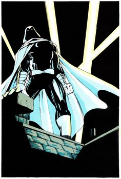 Moon Knight in Marvel Fanfare #25 (March 1986) - Dave Sim