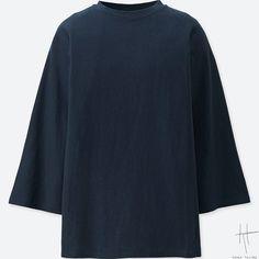 大きめシャツのようなゆったり感がポイント。爽やかでしなやかな風合いも魅力。