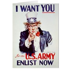 Shop Patriotic Uncle Sam - Vintage Poster created by pjwuebker. I Want You Poster, Have A Great Friday, Propaganda Art, First Nations, Vintage Posters, Vintage Signs, Vintage Ads, Wwii, Things I Want
