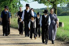 RWC: The Amish people are really humble and they have calm and peacful lifestyles, they make their own clothes and cook their own food.