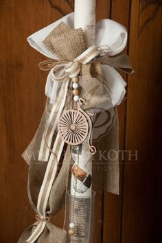 Boy Baptism, Christening, Baptism Ideas, Baptism Candle, Baptism Decorations, Naming Ceremony, Burlap, Kids Fashion, Balloons