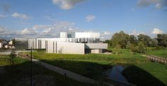 Dominique Coulon et associés Architectes designed a multicultural centre in Isbergues in the region of NordPasdeCalais in France a building that mediates the Calais France, Centre, Dominique, Willis Tower, Architecture, Gallery, Building, Pictures, Image