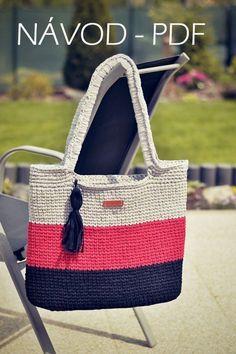 - Her Crochet Crotchet Bags, Crochet Tote, Crochet Handbags, Crochet Purses, Crochet Slippers, Knitted Bags, Diy Bags Purses, Yarn Bag, Tote Bags Handmade