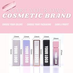 Start Your Own Cosmetic Line like Kylie Jenner -We make it easy and affordable ! ✨Choose the Packaging ✨Choose the Colors ✨We'll brand it with your logo ! ✨Resell and see a return 💰 #lipglosswholesale #lipglosswholesaler #lipglosswholesalevendor #explorepage #lipglossprivatelabel #cosmeticsprivatelabel #dreamblossbabe #dreamblossbabellc #startacosmeticsbussiness #startacosmeticline #tipstostartabusiness #usalipglossvendor #usawholesalemakeup #makeupvendors #makeupwholesalers #makeupprivate Cosmetic Wholesale, Wholesale Makeup, Lip Gloss Tubes, Private Label, Brand It, Kylie Jenner, Eyeshadow, Packaging, Cosmetics