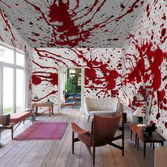 Fancy - Bloody Wall Mural