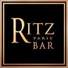 The Ritz Paris Bar Remember the $28 martini that wasn't filled to the top!!
