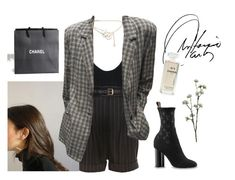 """""""Untitled #667"""" by elle01-1 ❤ liked on Polyvore featuring Chanel, River Island and Wyld Home"""