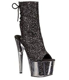Exotic Dancing Pleaser SPIKY-2001 Knee High Boots Platforms