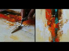 Abstract painting / Anybody can paint / Tools  required - paints , passion and practice - YouTube