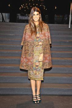 Bianca Brandolini d'Adda in Dolce & Gabbana