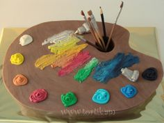 Торт художнику/Cake for painter