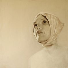 "Saatchi Online Artist Diederik Boyen; Painting, ""Search for Identity :   'Ellinor'"""