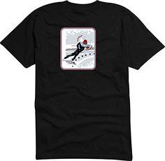 T-Shirt - Camiseta D834 Hombre negro con la impresión en color S - diseño Tribal cómico / deportismo gráfico / patinaje de velocidad y patines #camiseta #starwars #marvel #gift