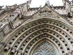 La Seu Cathedral Portal, Barcelona