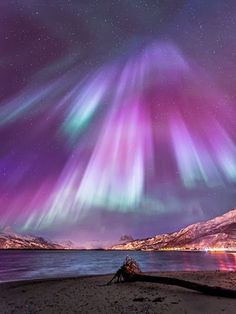 35 Fascinating Photos of Nature The amazing Northern Lights, officially known in the Northern hemisphere as Aurora Borelias, are natural phenomena that features amazing colored light Cool Pictures, Cool Photos, Beautiful Pictures, Travel Pictures, All Nature, Science And Nature, Amazing Nature, Norway Nature, Amazing Grace