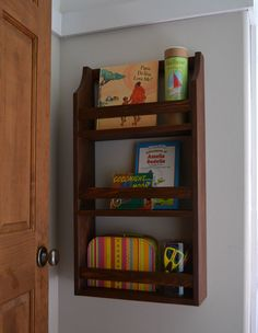 Ana White | Build a Hailey Wall Magazine Shelf | Free and Easy DIY Project and Furniture Plans