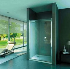 so very very modern Steam Room, Home Spa, Shower Doors, Kitchen And Bath, Windows, Interior Design, Simple, Modern, Rooms