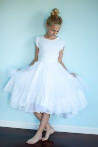 Jottum Sofia White Opal Dress van Jottum kinderkleding (forget SAB - just get the dress!)