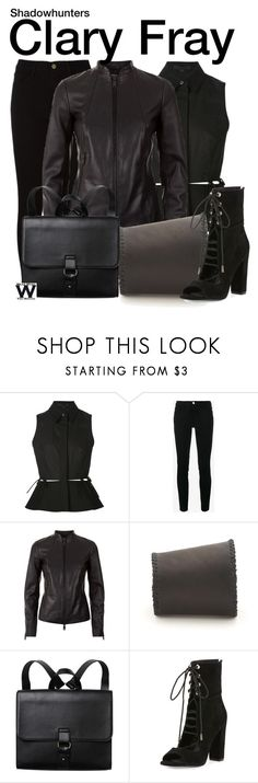 """Shadowhunters"" by wearwhatyouwatch ❤ liked on Polyvore featuring Alexander Wang, Frame, Reiss, Monki, Kendall + Kylie, television and wearwhatyouwatch"