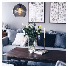Scandinavian Interior Design - Decoration For Home Ikea Inspiration, Bedding Inspiration, New Living Room, Small Living Rooms, Living Room Designs, Living Room Decor, Ikea Small Sofa, Love Couch, Scandinavian Interior Design