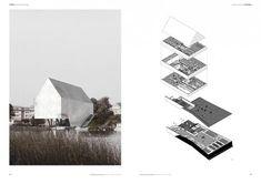 Лучшие примеры архитектурных портфолио.: schemme