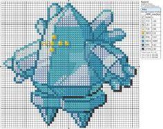 Pokemon - Regice by Makibird-Stitching
