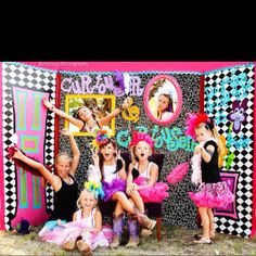 The most completely awesome photo booth ever!!!! Made by my wonderful friend @Chantal Christensen. Was the most perfect thing for these crazy girls at my daughter's Junk Gypsy style meets Alice In Wonderland Party!!!!! Hats made by Miss Ruby Sue!!!! Gorge!!!! Photo taken by Buttercup Photography @Sally Smith Arnold in Coleman, Tx